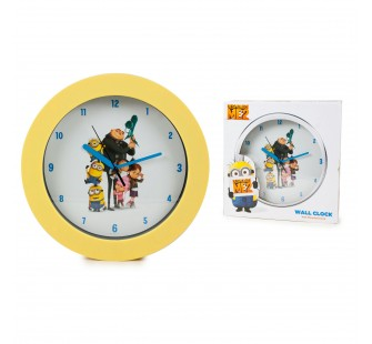 Horloge collector Minions